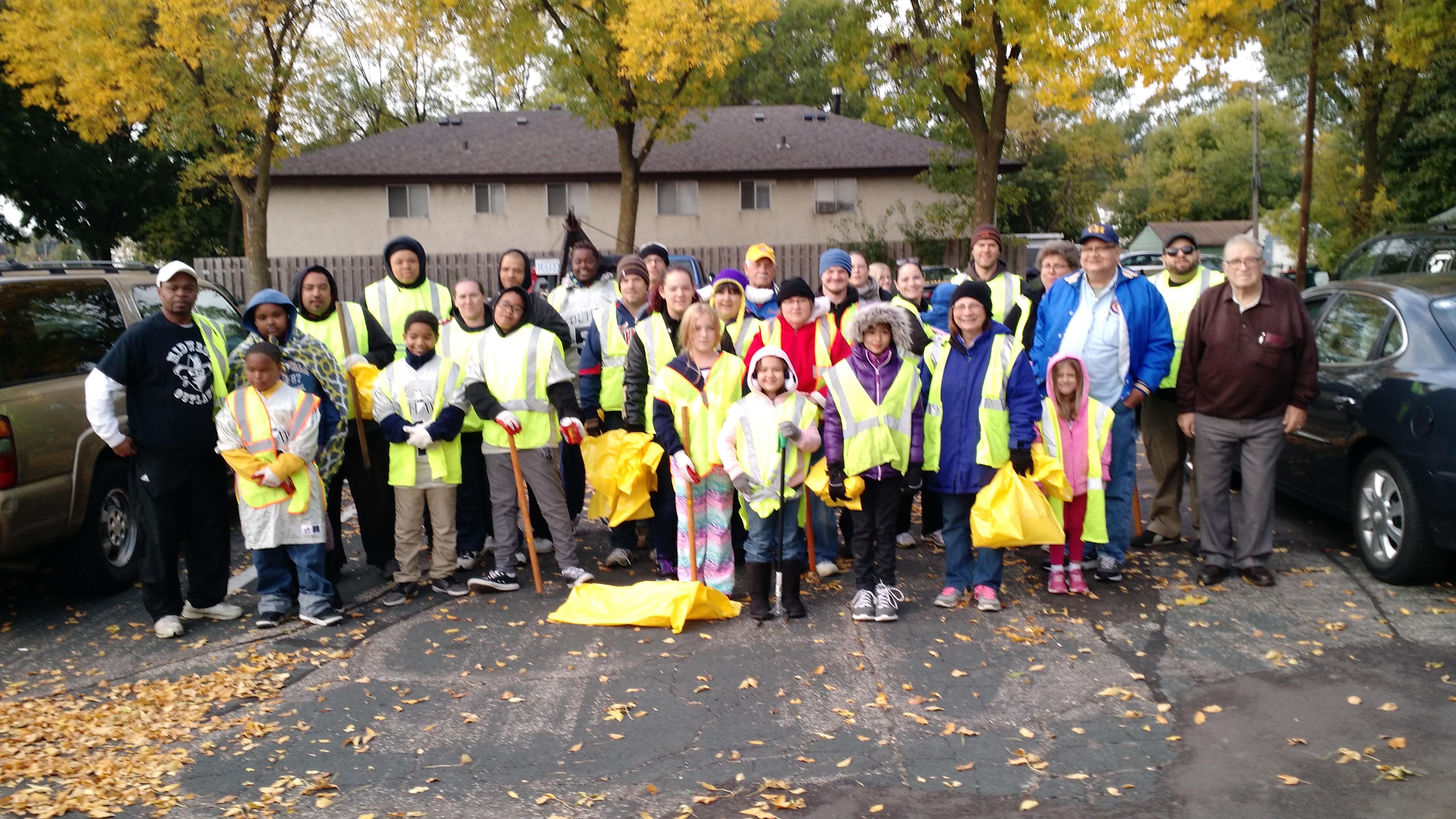 Volunteer in Columbia Heights, MN