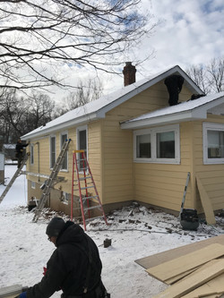 siding replacement after the storm