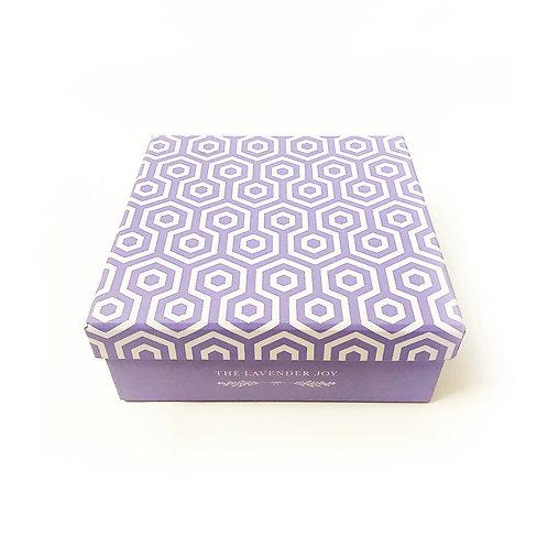 Lavender Colour Cardboard Box