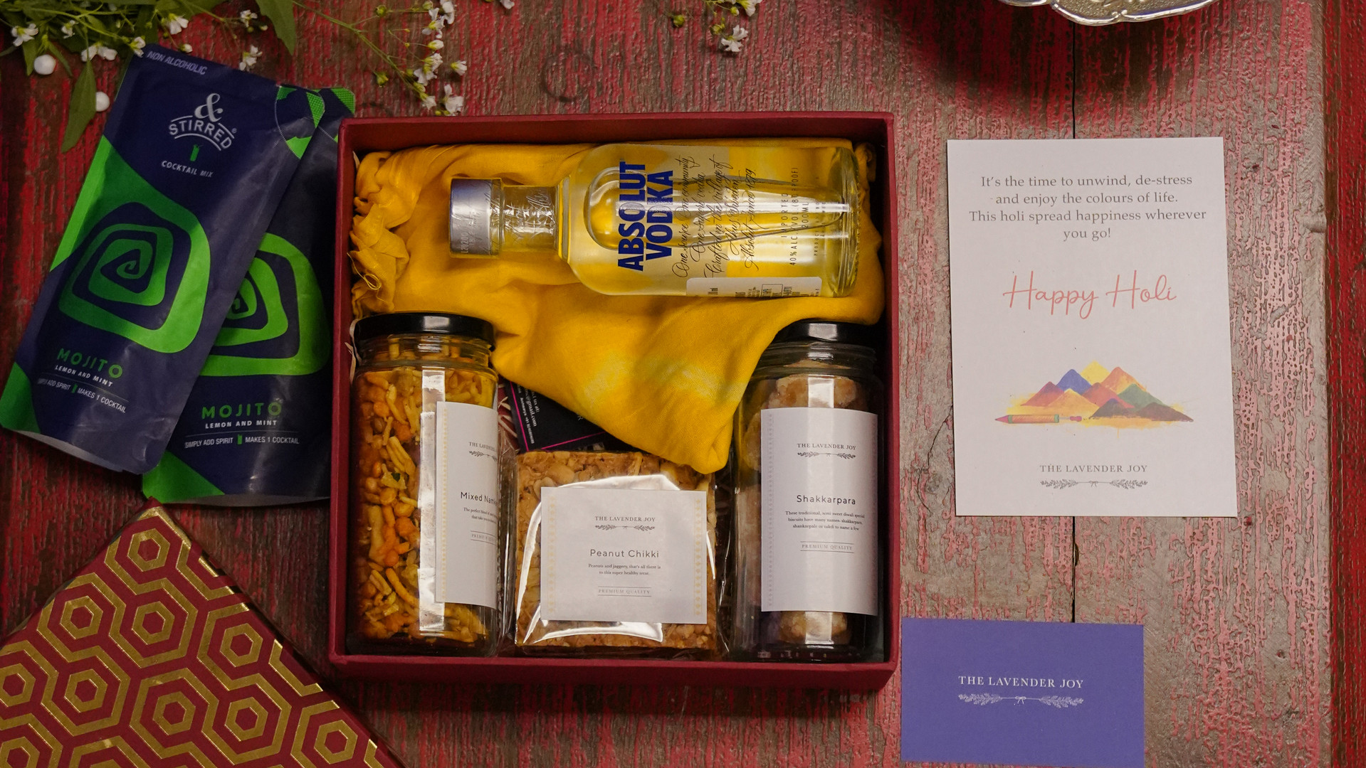 Gift box for cocktail lovers