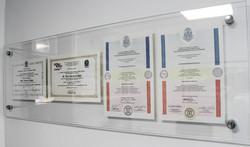 Quadro de diplomas