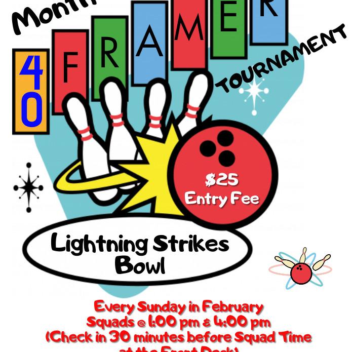40 Frame month long tournament