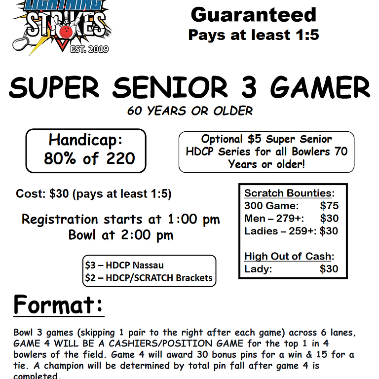 SUPER SENIOR 3 GAMER
