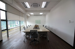 Meeting Table, Glass White Board