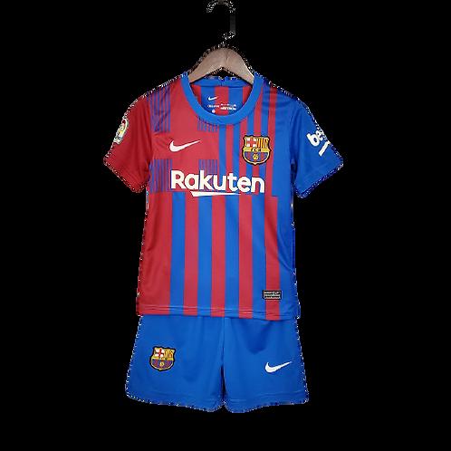 Детский комплект  Nike Barcelona   21/22