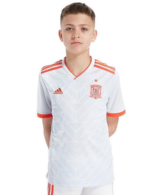 Детский комплект сборной Испании ЧМ 2018 форма гостевая