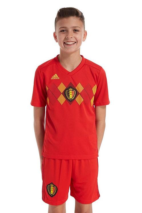 Детский комплект сборной Бельгии ЧМ 2018 форма домашняя
