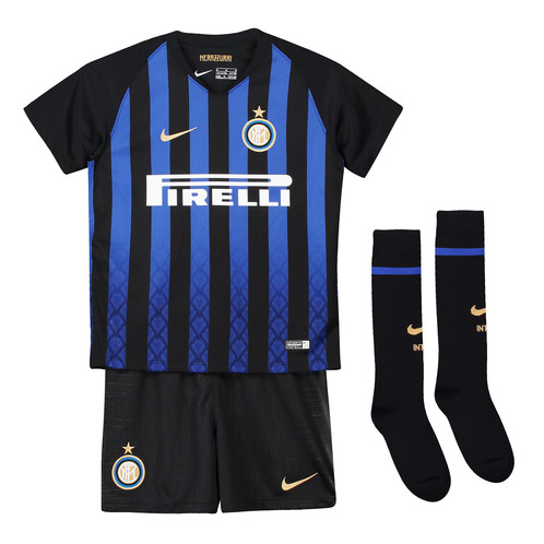 Детский комплект Интер Милан сезон 18/19 форма домашняя