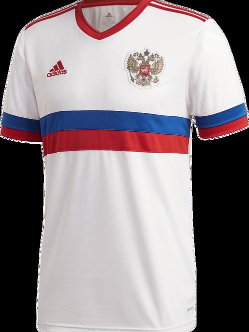 Футболка сборной России  белая евро 22