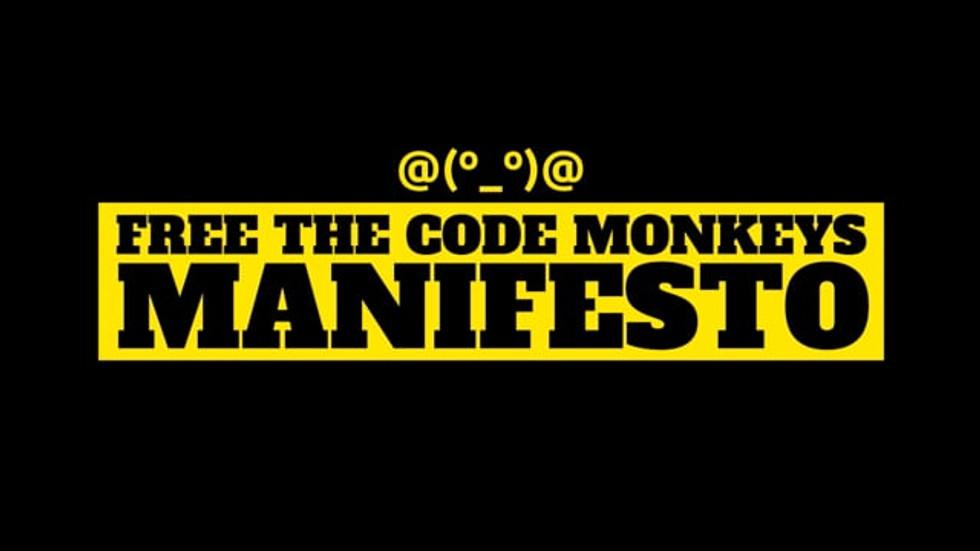 The Code Monkey Manifesto