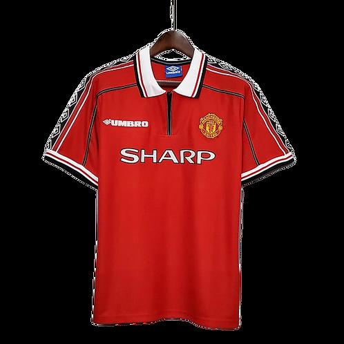 Футболка ретро Umbro Manchester United  98/99Home