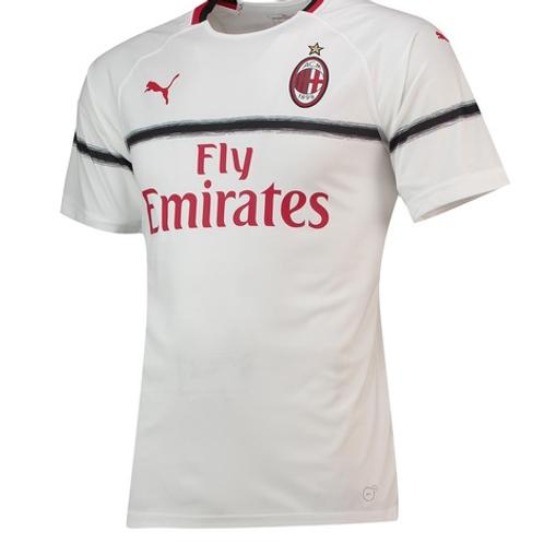 Футболка Милан сезон 18/19 форма гостевая