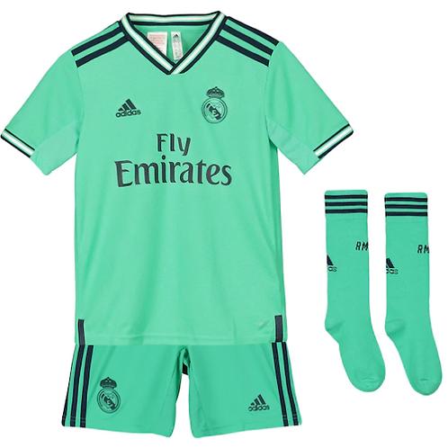 Детский комплект Реал Мадрид сезон 19/20 форма третья