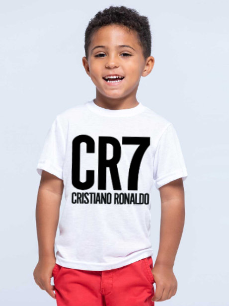 Футболка ХБ детская CR 7