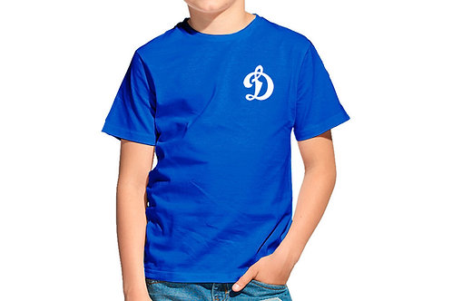 Футболка ХБ тренировочная детская синяя