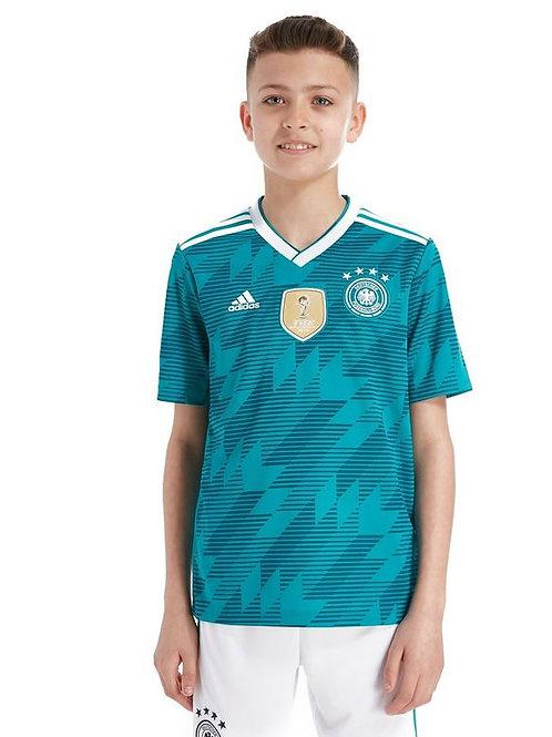 Детский комплект сборной Германии ЧМ 2018 форма гостевая