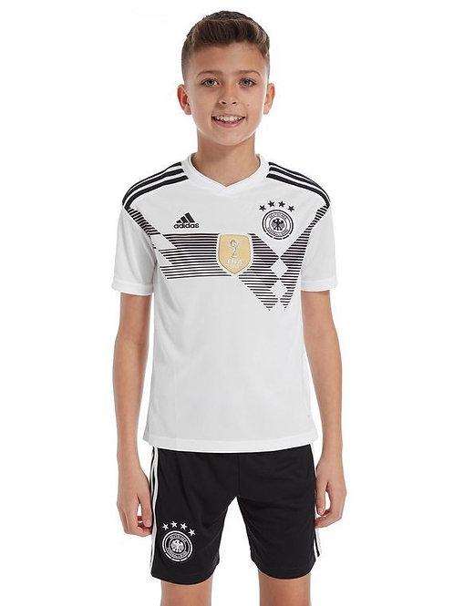 Детский комплект сборной Германии ЧМ 2018 форма домашняя