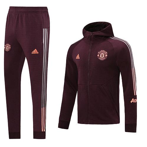 Костюм Adidas Manchester United бордовый