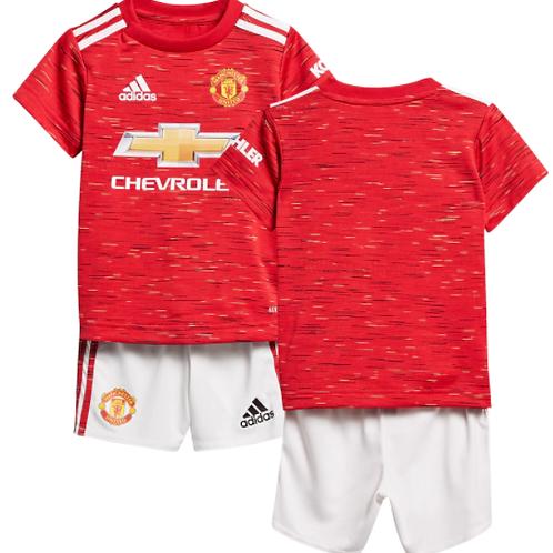 Детский комплект Манчестер Юнайтед сезон 20/21 форма домашняя