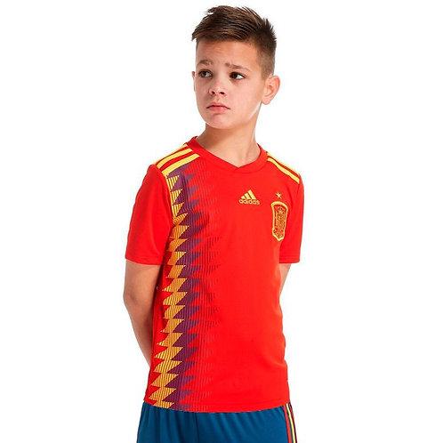 Детский комплект сборной Испании ЧМ 2018 форма домашняя