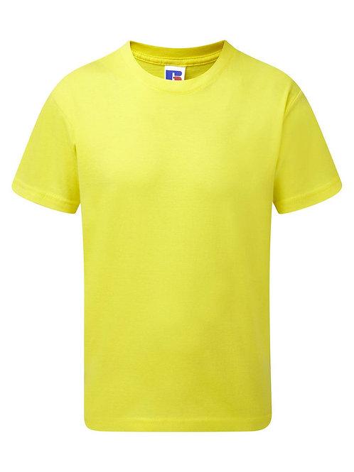 Футболка ХБ детская желтая