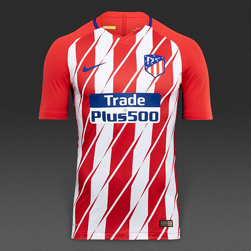 Футболка - Atletico Madrid 17/18 Home Soccer Jersey