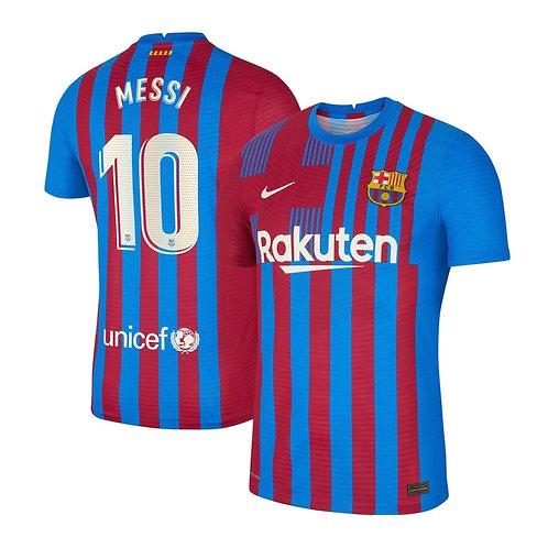 Футболка Nike Barcelona Home 21/22 Messi 10