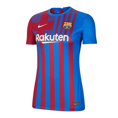 Футболка женская Nike Barcelona Home 21-22