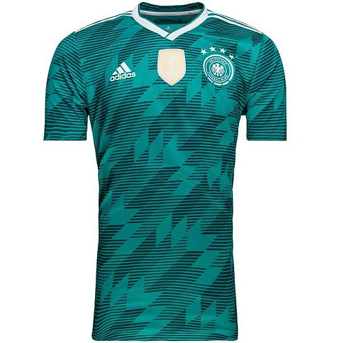 Футболка сборной Германии ЧМ 2018 форма гостевая