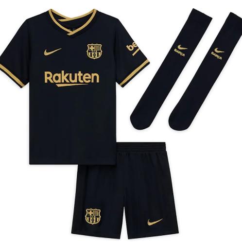 Детский комплект Барселона сезон 20/21 форма гостевая