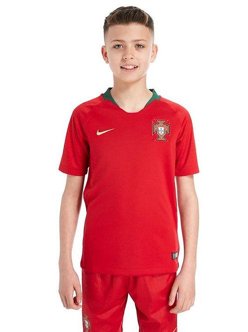 Детский комплект сборной Португалии ЧМ 2018 форма домашняя