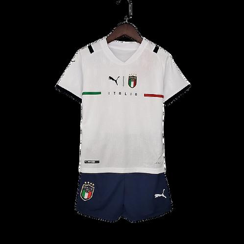 Детская форма сборной Италии белая