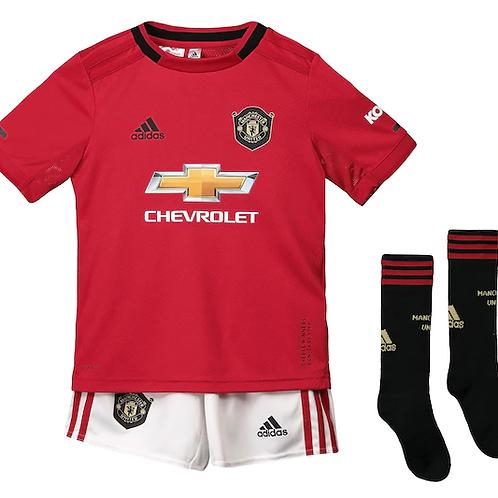 Детский комплект Манчестер Юнайтед сезон 19/20 форма домашняя