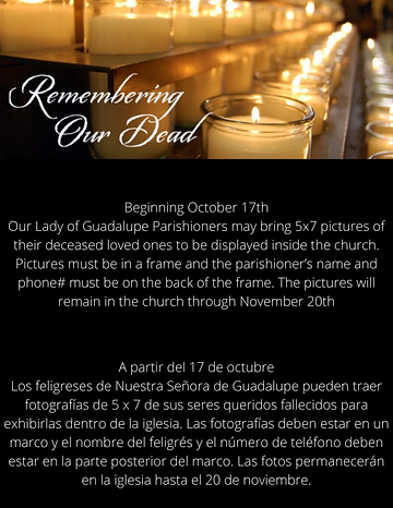 Remembering our deceased loved ones pict