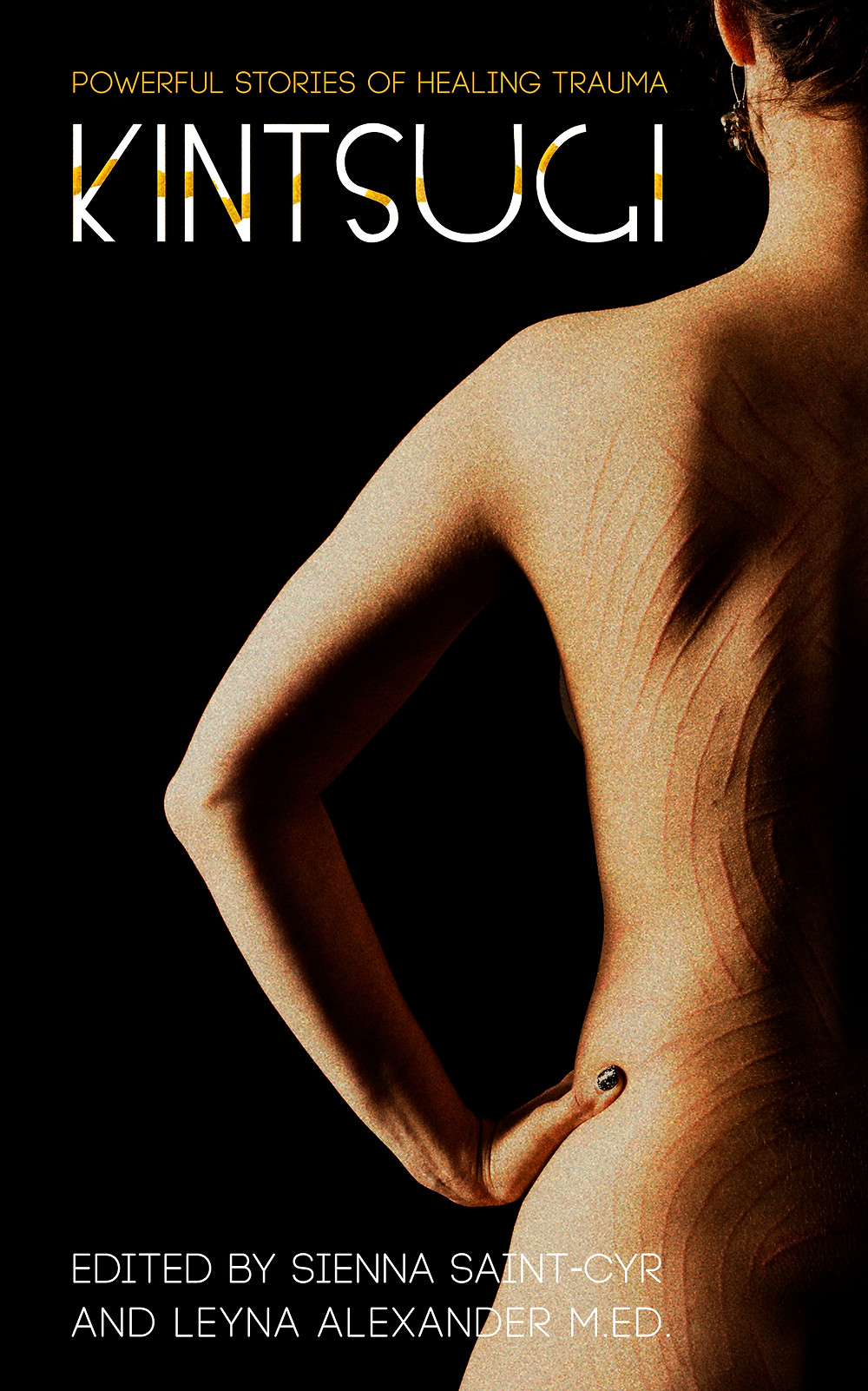 kintsugi powerful stories of healing trauma bare back book cover