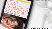 SALE ALERT: Best Women's Erotica of the Year, Volume 3 is only $1.99 this week!