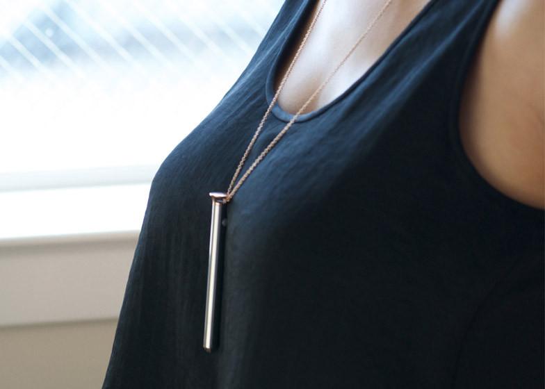 crave vesper vibrator necklace erotic jewelry