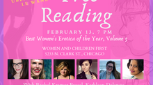 Best Women's Erotica book tour hits Chicago and LA next week