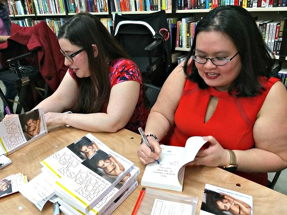 erotica authors signing books rachel kramer bussel thien-kim lam