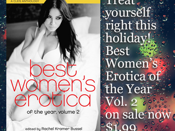 $1.99 sale this week only on Best Women's Erotica of the Year, Volume 2
