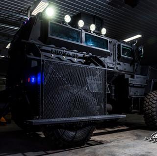 SWAT MRAP Side Deployment Ramps