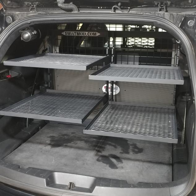 Squad Car Storage