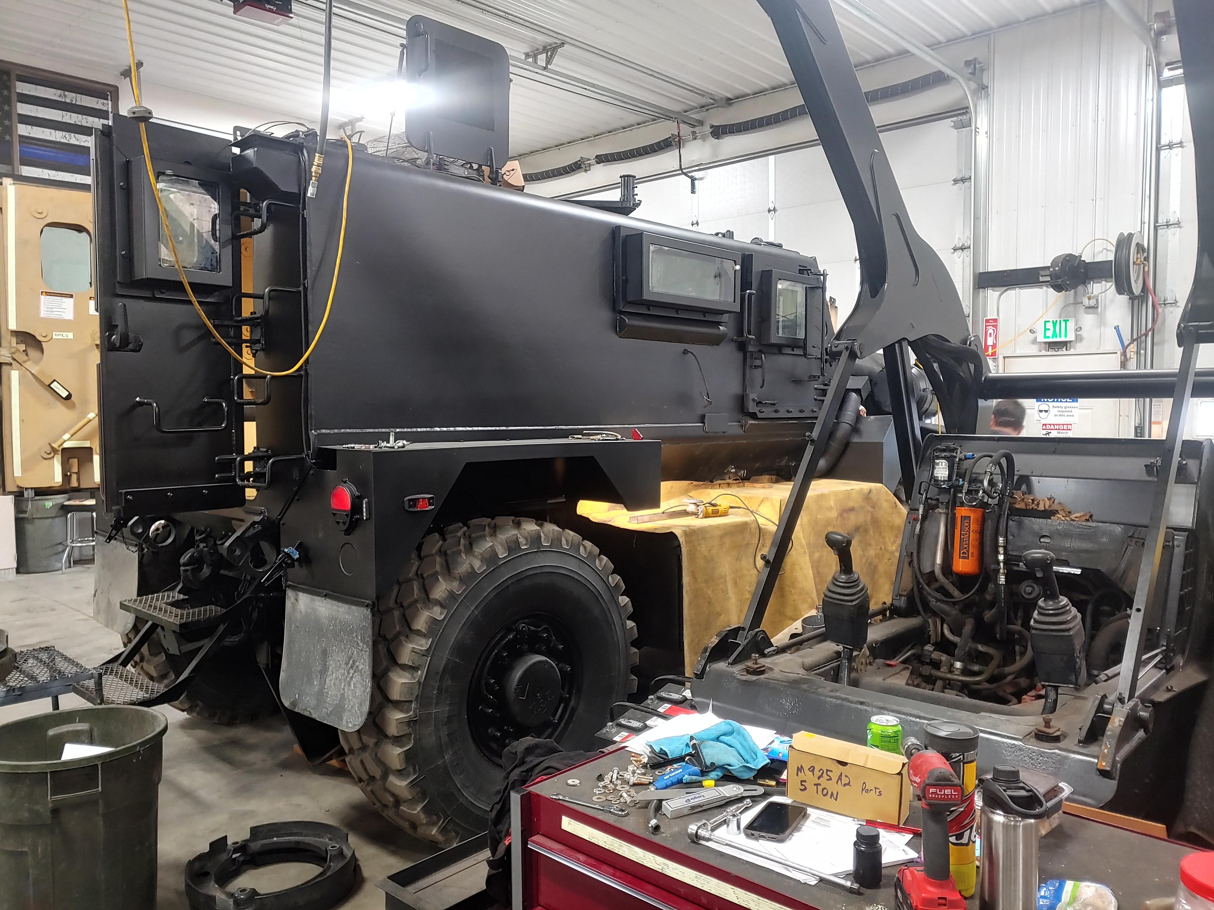 SWAT MRAP Cougar