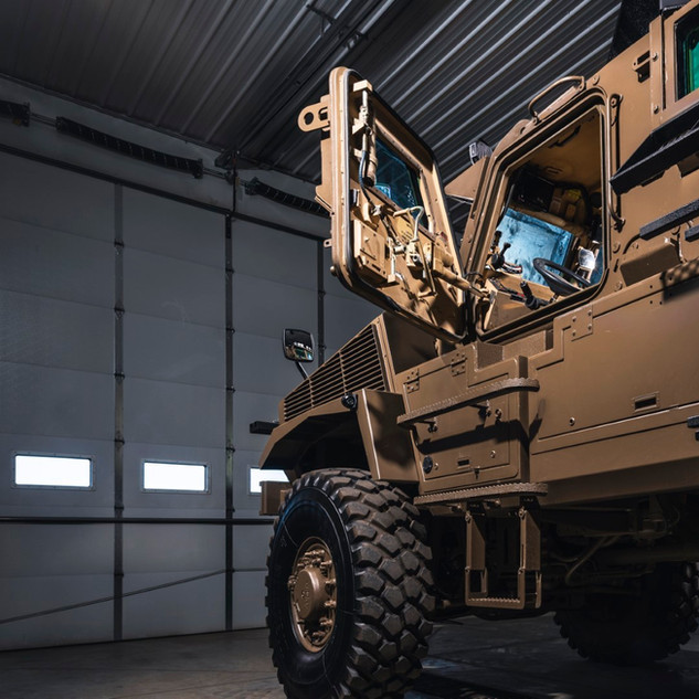 SWAT MRAP Side Deployment Ramps