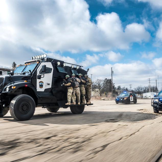 MRAP Side Deployment Ramps