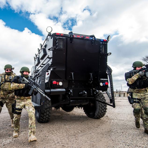 SWAT MaxxPro MRAP