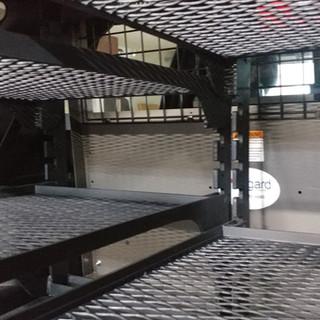 Squad Car Storage Racks