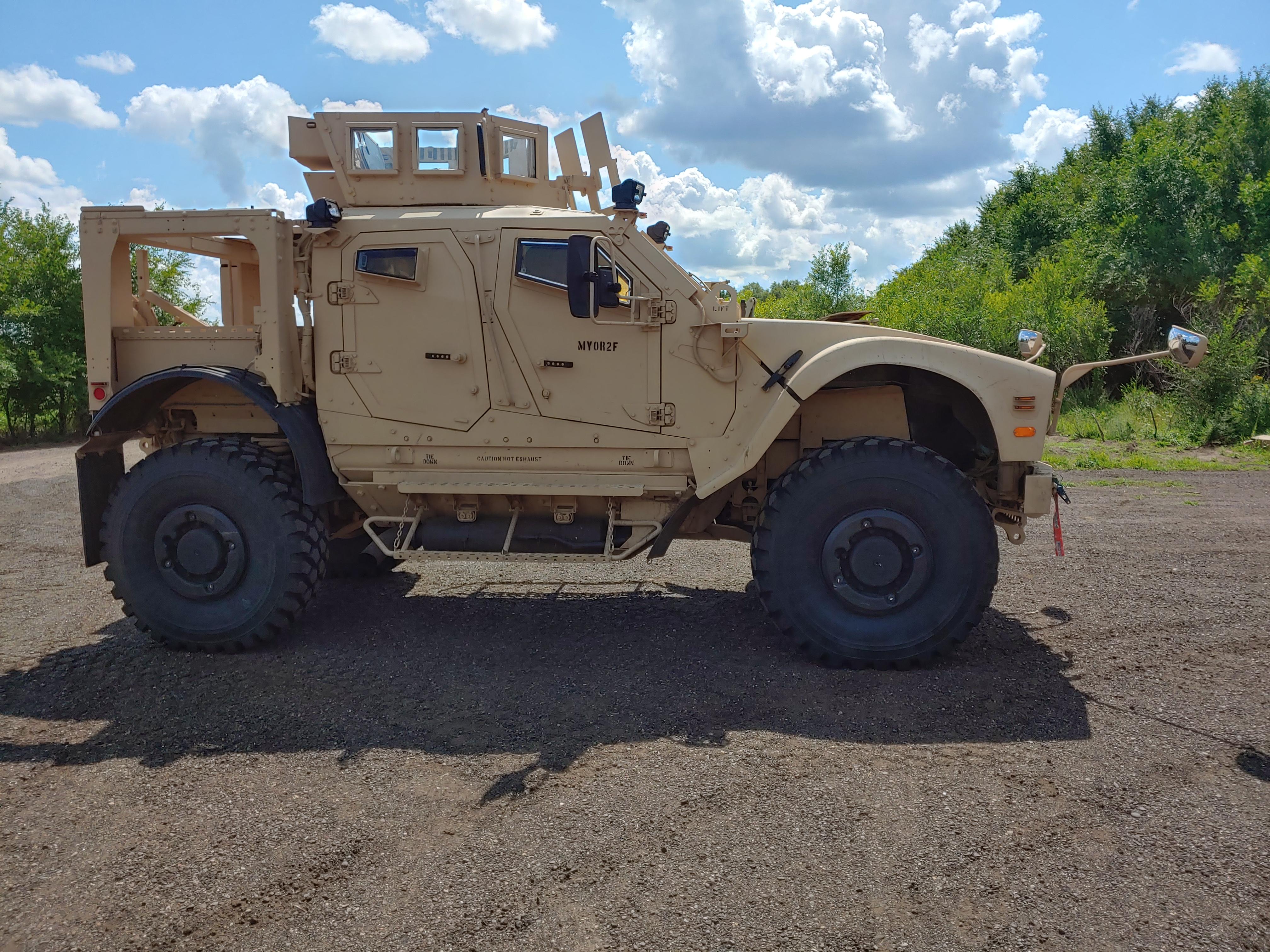 SWAT MRAP MATV