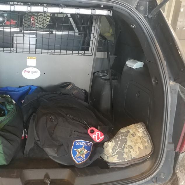Squad Car Storage Solution