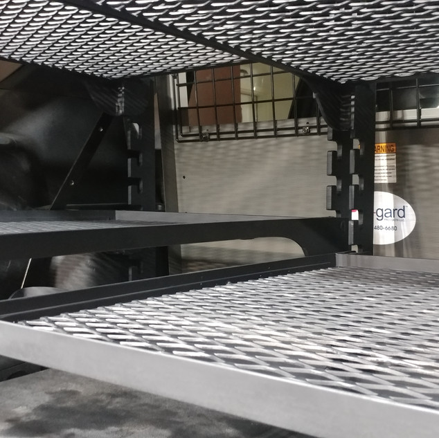 Squad Car Storage Racking
